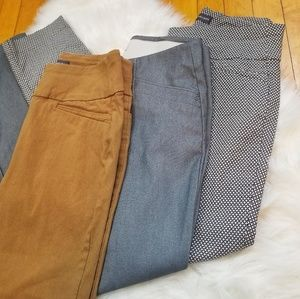 Van Heusen Work Pant Bundle Size: 4